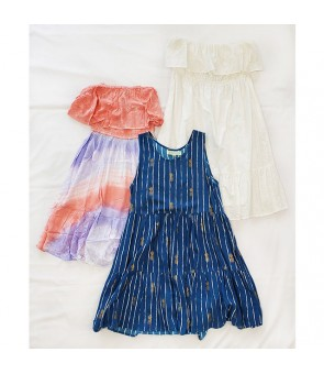 Angels by the Sea Set [ Short Dress Value Pack ] S/M or M/L Size