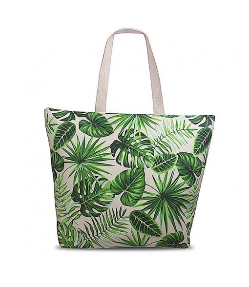 Beach Tote Bag [ Monstera ] Green
