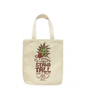 Woven Tote Bag [ Be a Pineapple ]