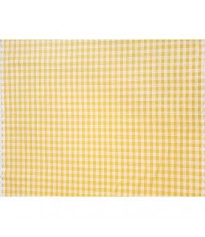 Hawaiian Cotton Fabric [ Palaka ] Yellow