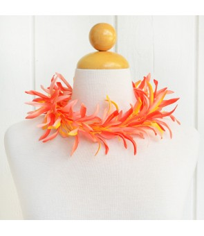 Silk Flower Headband [ NEW Spider Lily ] Orange