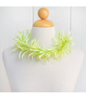 Silk Flower Headband [ Spider Lily ] Green