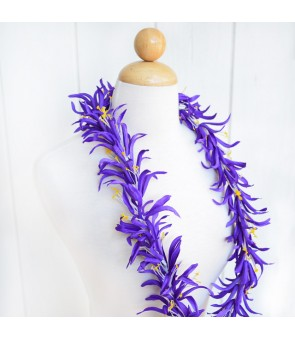 Silk Flower Lei [ Spider Lily ] Dark Purple
