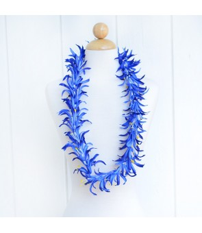 Silk Flower Lei [ Spider Lily ] Navy Blue