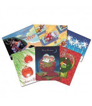 Christmas Card [ Value Pack A ] 24-Pieces