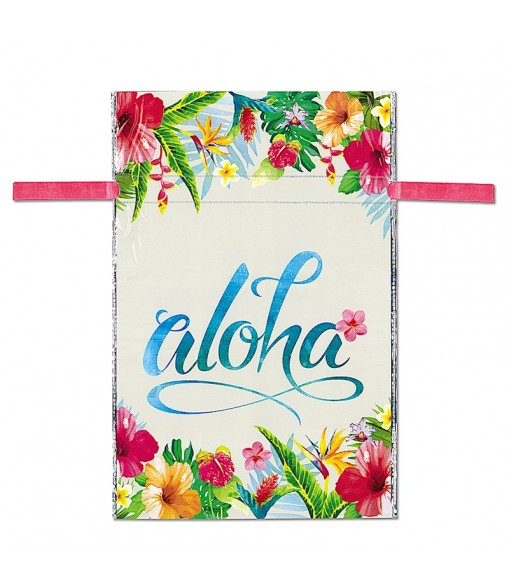 Drawstring Gift Bag [ Aloha Floral ] 2 Sizes