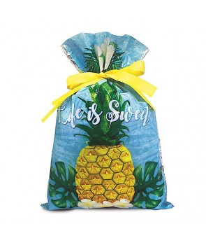 Drawstring Gift Bag [ Life is Sweet ] 2 Sizes