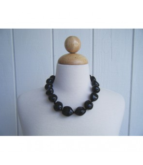 Kukui Choker [ Plain ] Black or Brown
