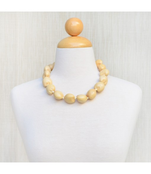 Kukui Choker [ Plain ] Natural