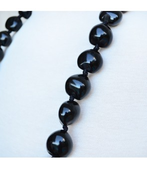 Kukui Lei [ Plain ] Black
