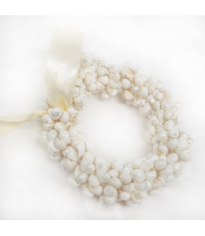 Shell Bracelet [ Mongo Shell Ring ] White
