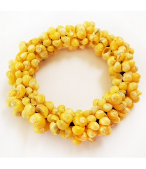 Shell Bracelet [ Mongo Shell Ring ] Yellow