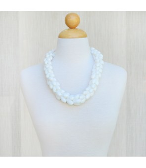Shell Choker [ Bubble Shell ] White