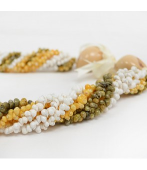 Shell Choker [ Mongo Shell Twist ] 3-Color Combination