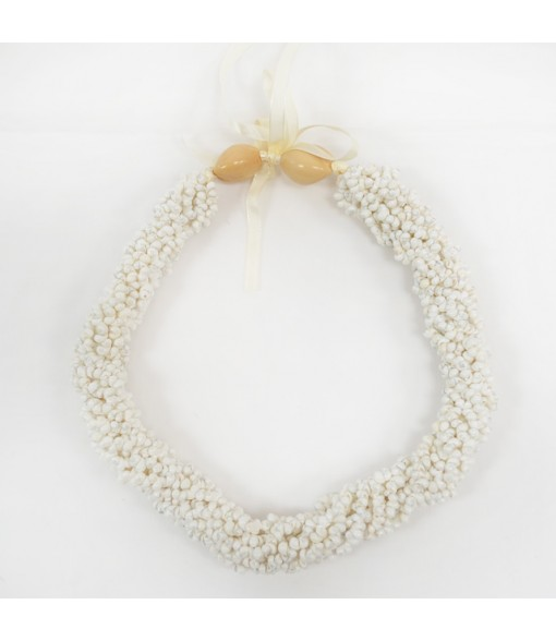Shell Choker [ Mongo Shell Twist ] White