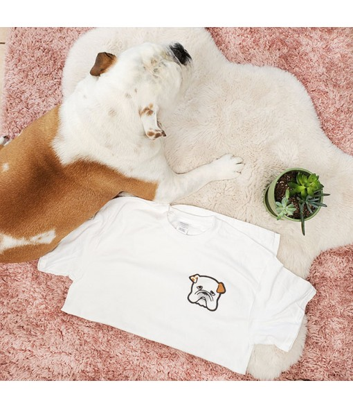 Maple Biscuits Original T-Shirt [ Biscuit Character ] White