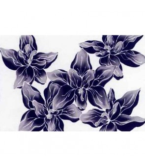 Tahitian Pareo [ Orchid ] Black & White