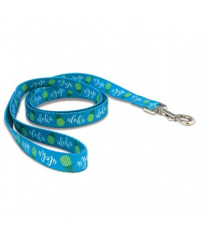 Pet Leash [ Pineapple Aloha ] Aqua