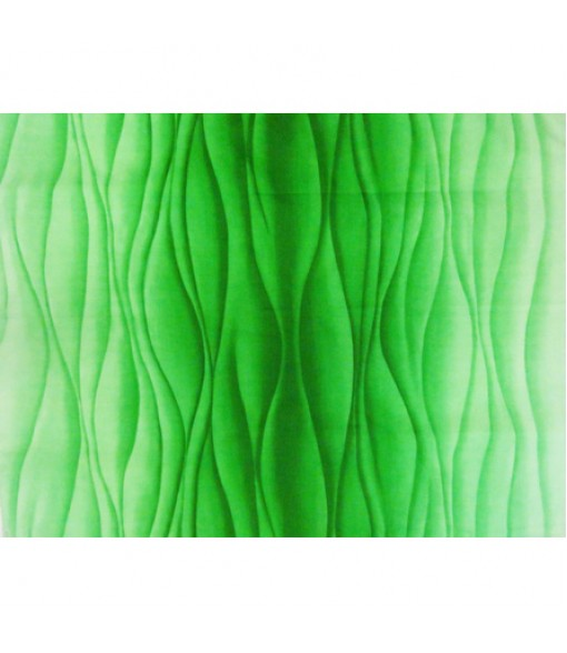 Hawaiian Poly Cotton Fabric BQ-15-1017 [ Ocean Swell ] Green