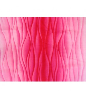 Hawaiian Poly Cotton Fabric BQ-15-1017 [ Ocean Swell ] Pink