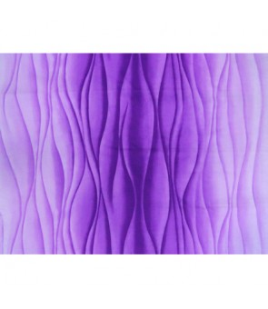 Hawaiian Poly Cotton Fabric BQ-15-1017 [ Ocean Swell ] Purple