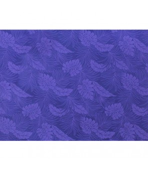 Hawaiian Poly Cotton Fabric LMH-04-331 [ Monstera ] Blue