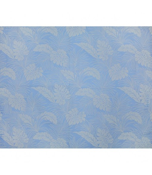 Hawaiian Poly Cotton Fabric LMH-04-331 [ Monstera ] Denim