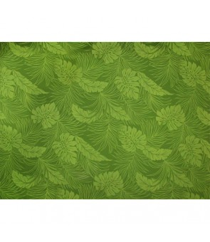 Hawaiian Poly Cotton Fabric LMH-04-331 [ Monstera ] Fern Green
