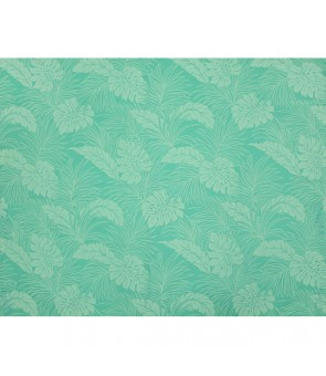Hawaiian Poly Cotton Fabric LMH-04-331 [ Monstera ] Mint