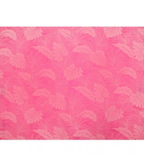 Hawaiian Poly Cotton Fabric LMH-04-331 [ Monstera ] Pink