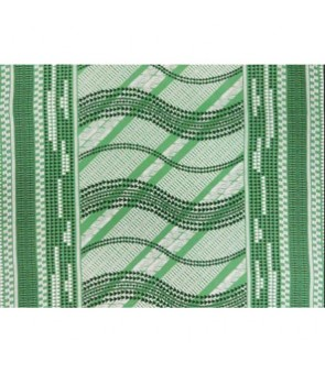 Hawaiian Poly Cotton Fabric LW-17-593 [ Tapa Wave ] Green