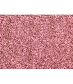 Hawaiian Poly Cotton Fabric LW-19-713 [ Reel & Lei ] Brown Pink