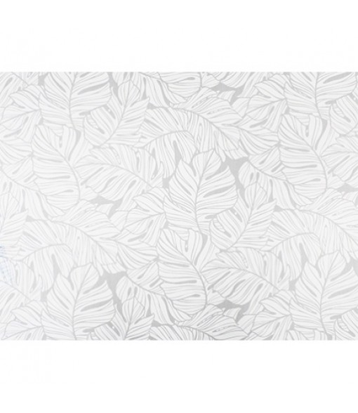 Hawaiian Poly Cotton Fabric LW-19-734 [ All Over Monstera ] White